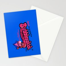 BUBBLASSKICK Stationery Cards