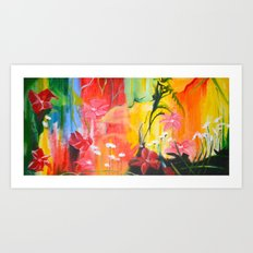 Stay Calm Art Print