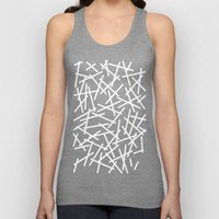 Kerplunk Navy and White Unisex Tank Top