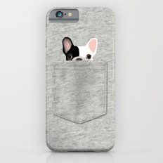 Pocket French Bulldog - Pied Slim Case iPhone 6s