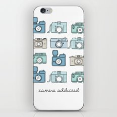 Camera Addicted iPhone & iPod Skin