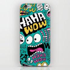 Laughing Pattern iPhone & iPod Skin