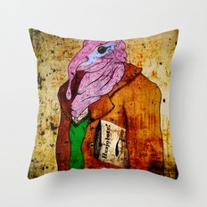 Draw me a Huajolote! Throw Pillow