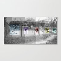 Skater Series #3 Canvas Print