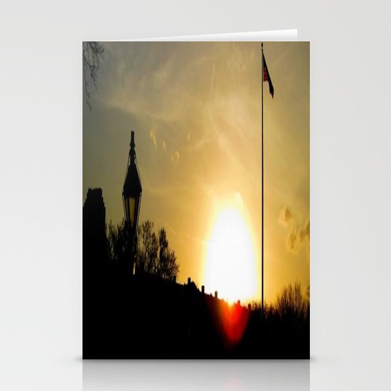 Plaza de Armas, New Orleans Stationery Card