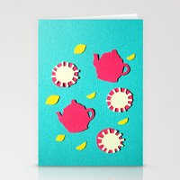 Turquois Tea Stationery Cards