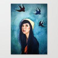 Hipsta Canvas Print