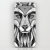 iPhone & iPod Skin featuring Fox by Andreas Preis