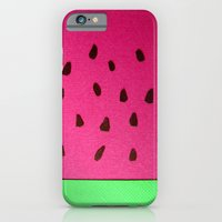 Watermelon Papercut iPhone 6 Slim Case