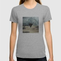Star Portal V01 Womens Fitted Tee Athletic Grey SMALL