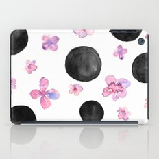 Flora dots iPad Case