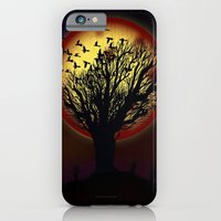 iPhone & iPod Case featuring NIGHT FLOCK - 020 by Lazy Bones Studios