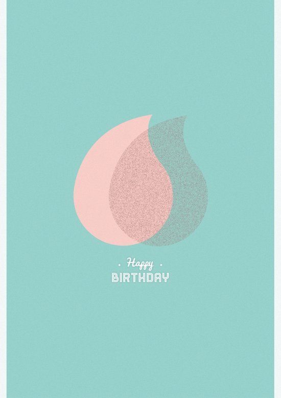 Happy Birthday - Light#2 Art Print