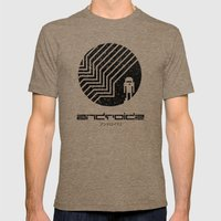 Android Mens Fitted Tee Tri-Coffee SMALL