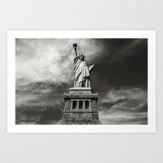 Statue of Liberty 1. Art Print