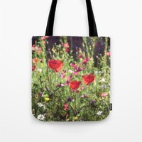 A Floral Spot On Earth Tote Bag