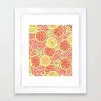 Fresh & Fruity Framed Art Print