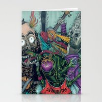 Sid Squish And The Death… Stationery Cards