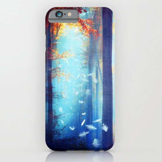Dreams in blue iPhone & iPod Case