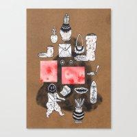 Imaginary Showcase Canvas Print