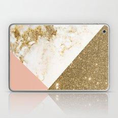 Gold marble collage Laptop & iPad Skin