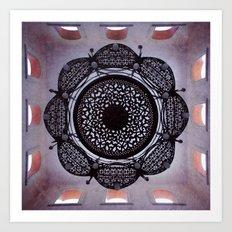 Lace magic Art Print