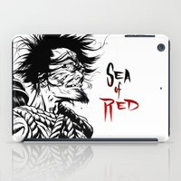 Sea Of Red iPad Case
