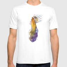 Fashion - Ice Queen SMALL White Mens Fitted Tee