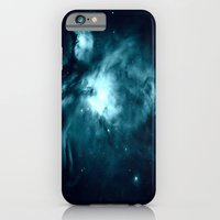 nebula iPhone & iPod Cases featuring Orion nebula : Teal Galaxy by 2sweet4words Designs