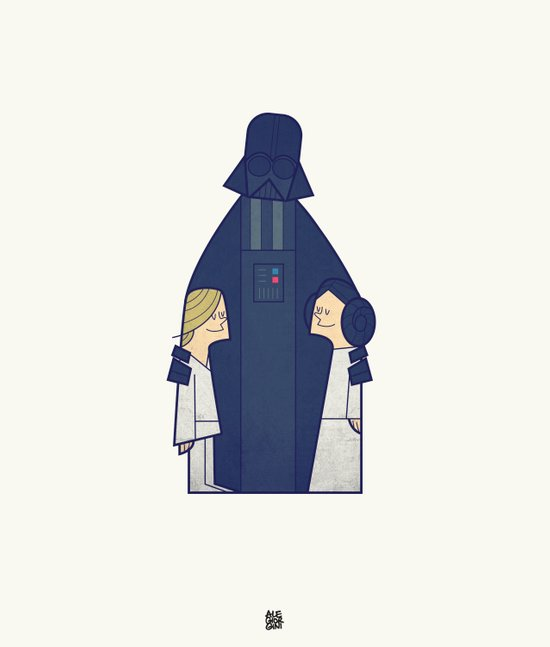 May the Love be with you Art Print