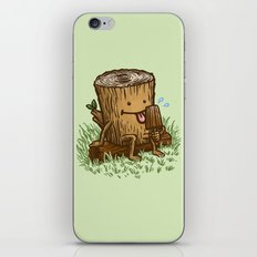 The Popsicle Log iPhone & iPod Skin