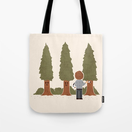 Happy Trees Tote Bag