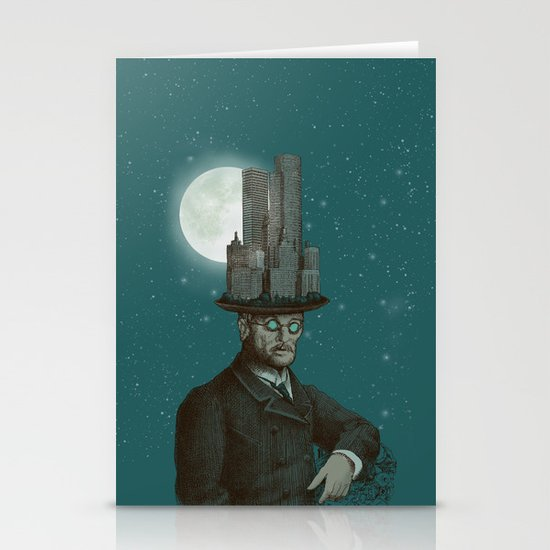 The Architect (colour option) Stationery Card