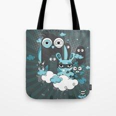 Nocturnal Friends Tote Bag