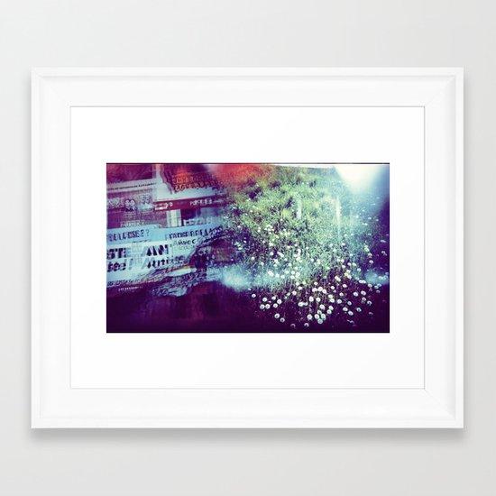 Holga Flowers V Framed Art Print