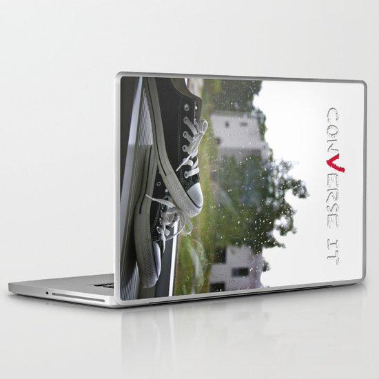 Converse It Laptop & iPad Skin