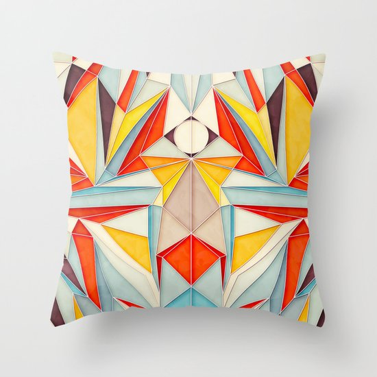 Everything is Fine Throw Pillow