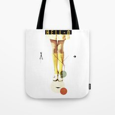 Cut The (...) | Collage Tote Bag
