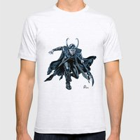 Loki Mens Fitted Tee Ash Grey SMALL
