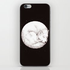 The Howl of the Moon iPhone & iPod Skin