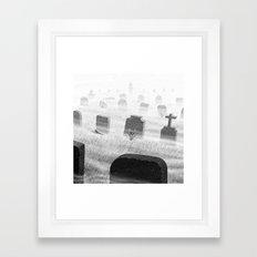Drawlloween 2015: Grave Framed Art Print