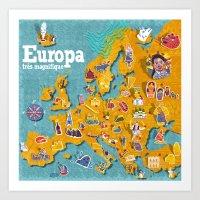 Europa! Art Print