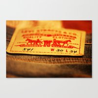 Wear Your Style Canvas Print