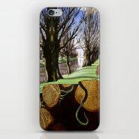Avon River, Christchurch iPhone & iPod Skin