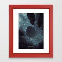 why do we fall ? Framed Art Print