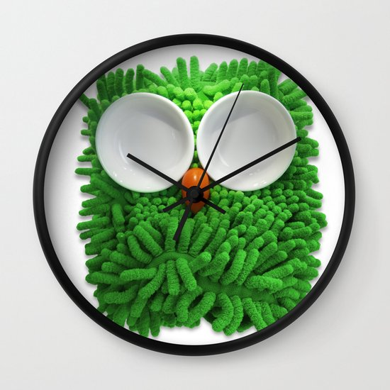 Hootie the House Owl! Wall Clock