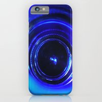 iPhone & iPod Case featuring blue by Aliina Ross
