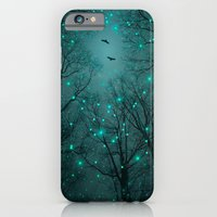 iPhone Cases featuring Silently, One by One, the Infinite Stars Blossomed (Geometric Stars Remix) by soaring anchor designs