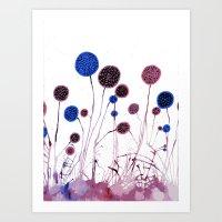 Flowers? Art Print