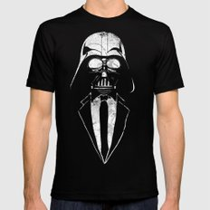 Darth Vader Gentleman Mens Fitted Tee SMALL Black